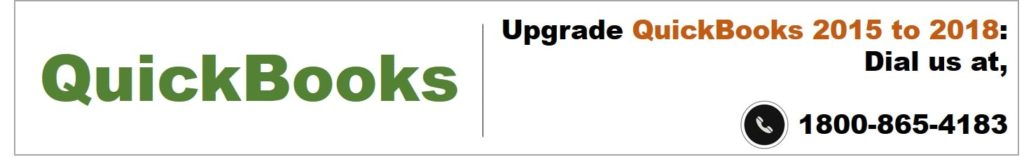 Upgrade QuickBooks 2015 to 2018