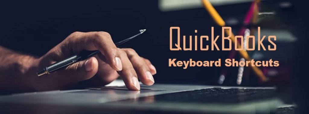 QuickBooks keyboard shortcut