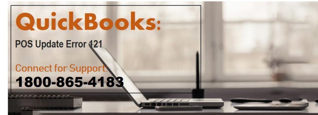 Quickbooks pos update error 121
