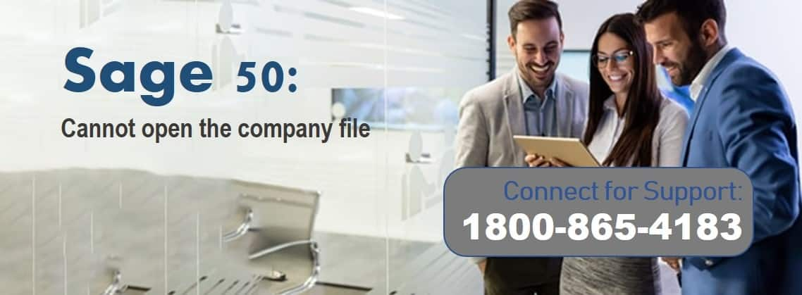 Sage 50 Cannot Open Company File a Required Data File Is Missing