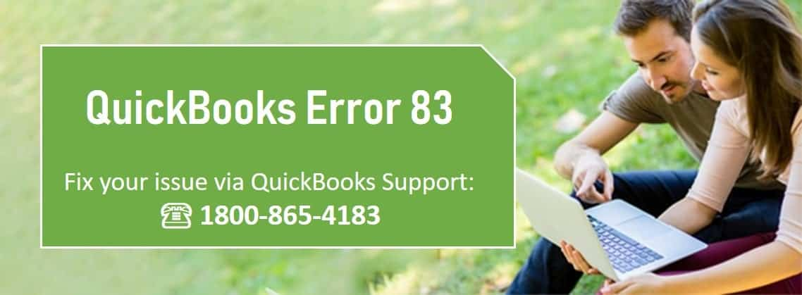 QuickBooks error 83