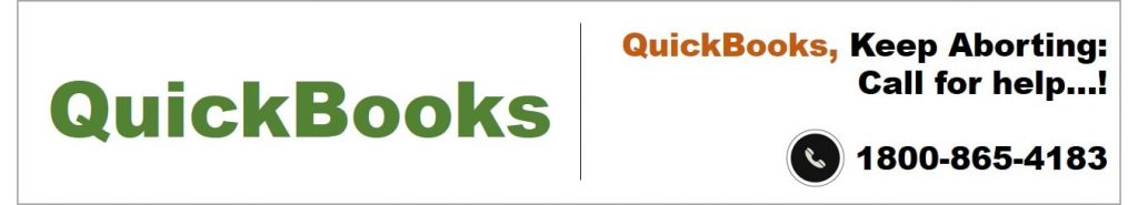 Follow the steps to fix QuickBooks keeps aborting error