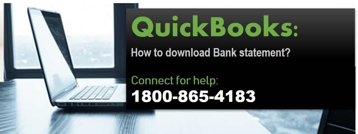 How to download Bank Statements to QuickBooks
