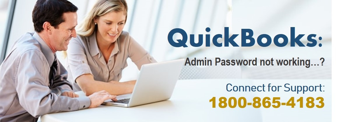 QuickBooks Admin Password not working