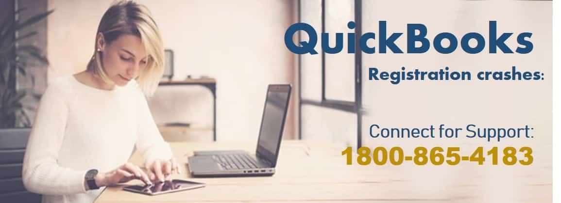 QuickBooks registration crashes