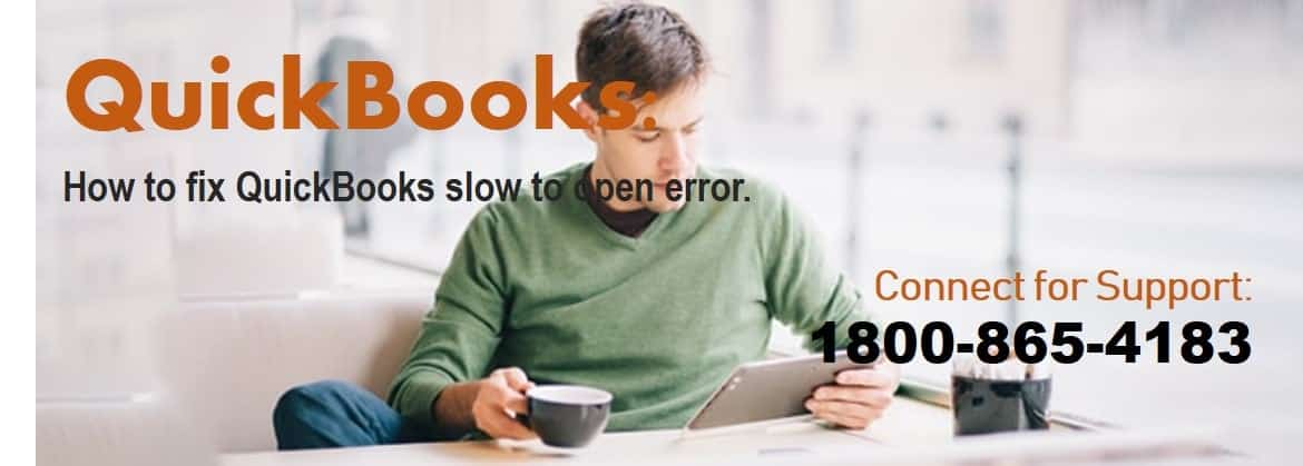 QuickBooks slow to open error