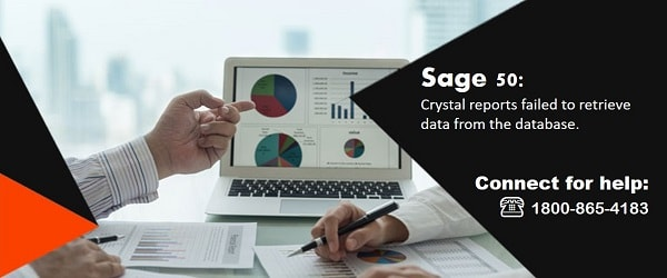 Crystal reports failed to retrieve data from the database