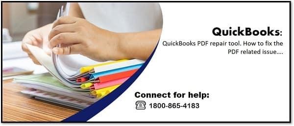QuickBooks PDF repair Tool