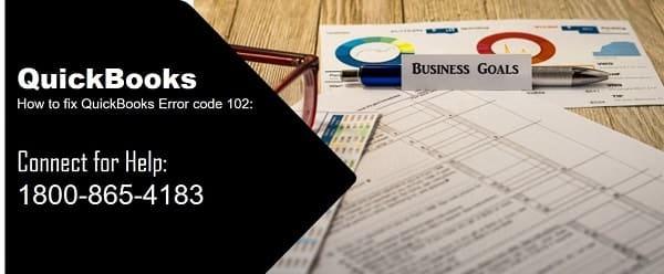 QuickBooks error code 102