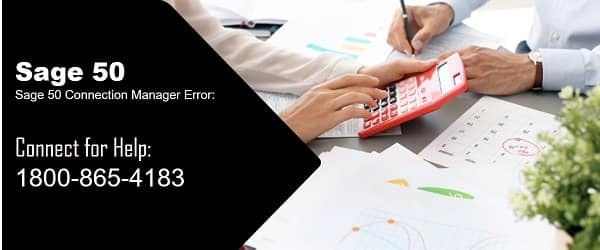 Sage 50 connection manager error