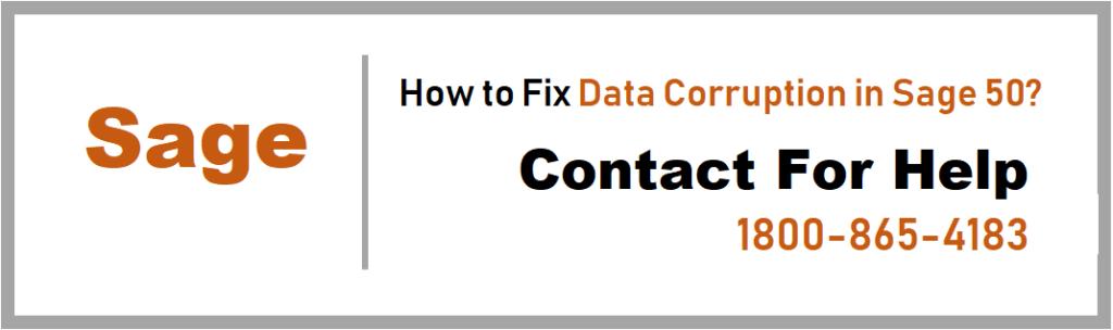 Fix Data Corruption in Sage 50