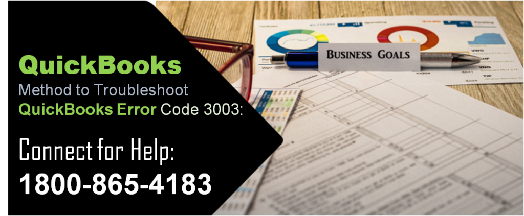 Method to Troubleshoot QuickBooks Error Code 3003