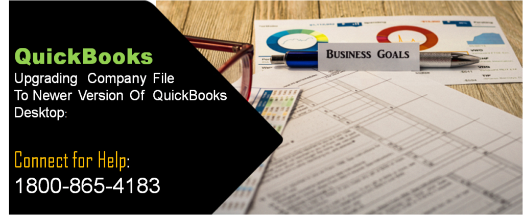 Upgrading Company File to newer version of QuickBooks Desktop