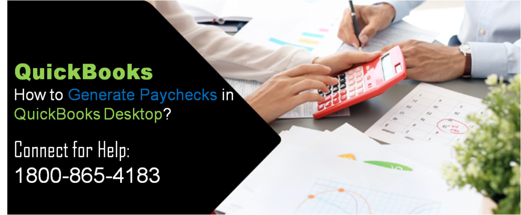 How to Generate Paychecks in QuickBooks Desktop