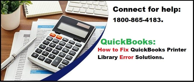 QuickBooks Printer Library Error