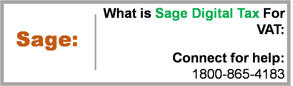 Sage Digital Tax