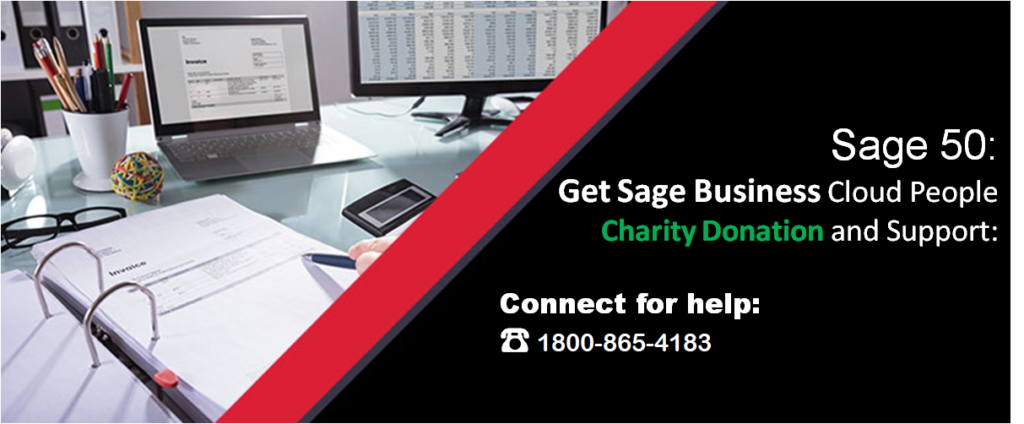 Get Sage Business Cloud People Charity Donation and Support