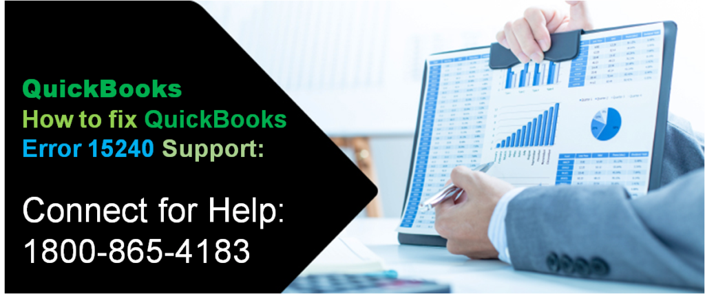 How To Fix QuickBooks Error 15240 Support Call @ 1800-865-4183