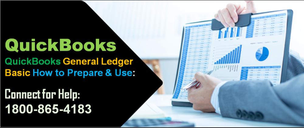 quickbooks general ledger prepare and use