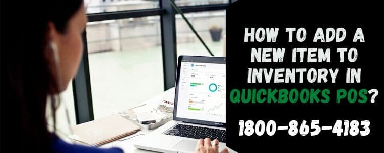 Add a New Item to Inventory in QuickBooks POS
