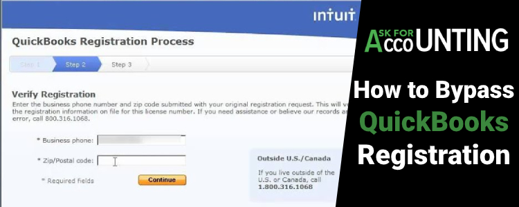 Know more about QuickBooks Registration Code Bypass