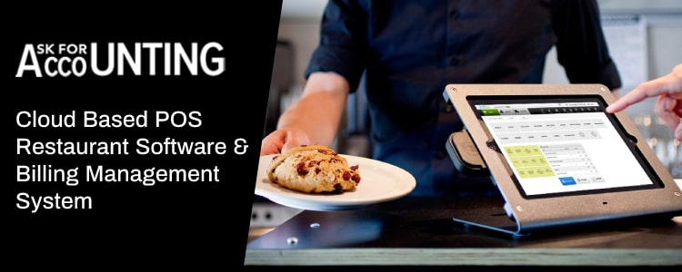 Cloud Based POS Restaurant Software
