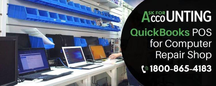 QuickBooks POS for Computer Repair Shop