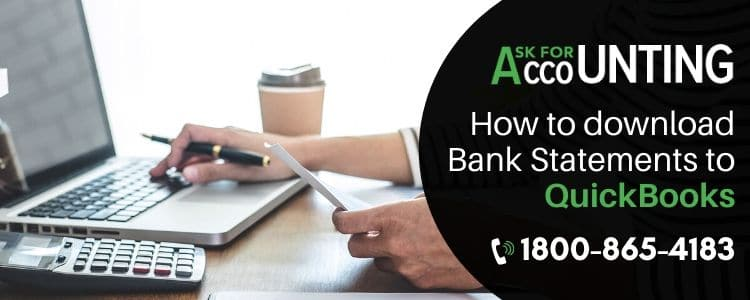 download Bank Statements to QuickBooks