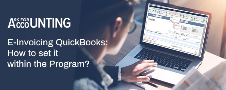 E-Invoicing QuickBooks