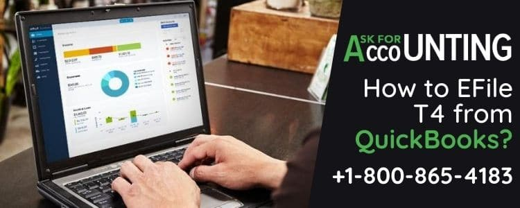 EFile T4 from QuickBooks