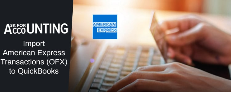 Import American Express OFX