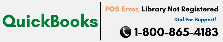 QuickBooks POS Error Library Not Registered