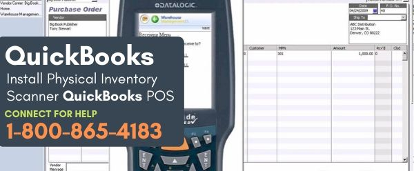 Physical Inventory Scanner QuickBooks POS
