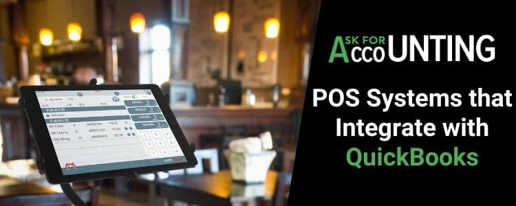 POS Systems that Integrate with QuickBooks