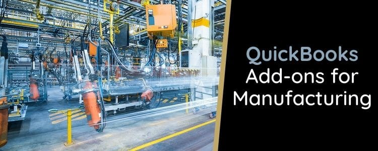 QuickBooks Add-ons for Manufacturing