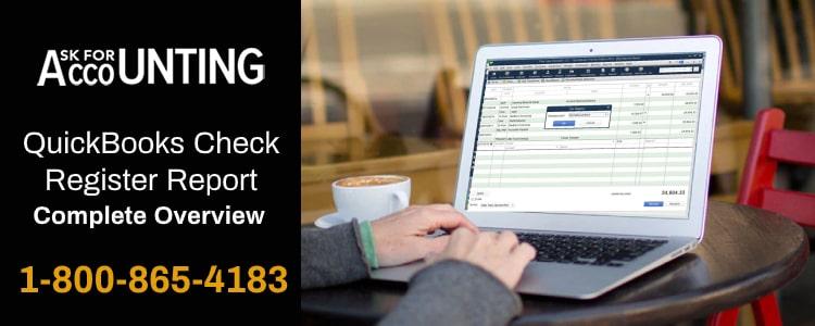 QuickBooks Check Register