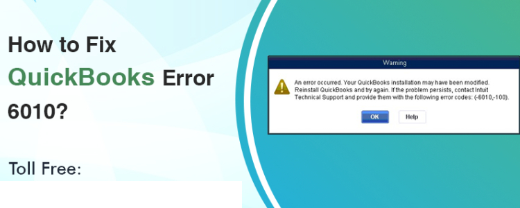 QuickBooks Error Code 6010