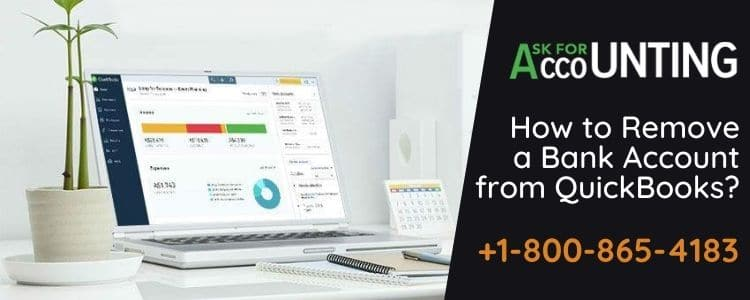 Remove a Bank Account from QuickBooks