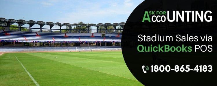 Stadium Sales Via Quickbooks POS