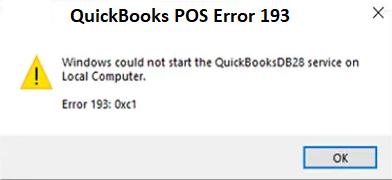 quickbooks error 193