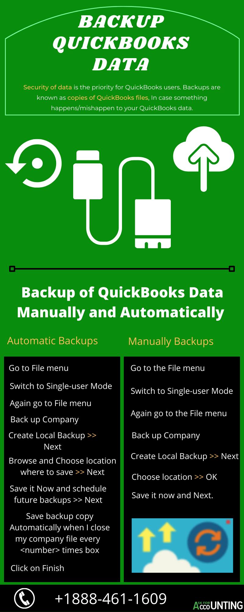 Backup QuickBooks Data