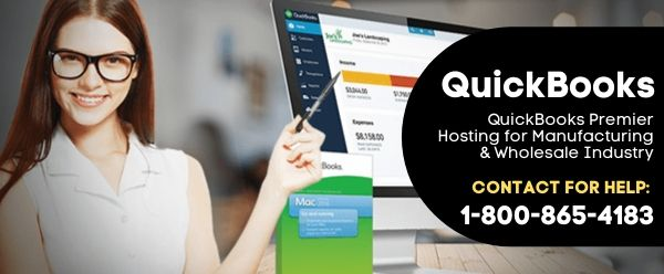 QuickBooks Premier Hosting for Manufacturing & Wholesale Industry