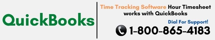 Time Tracking Software Hour Timesheet works with QuickBooks