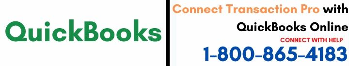 Connect Transaction Pro with QuickBooks Online