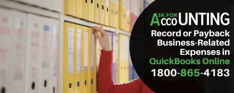 Record or Payback Business-Related Expenses in QuickBooks Online
