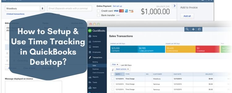 Time Tracking in QuickBooks Desktop