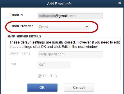 QuickBooks gmail
