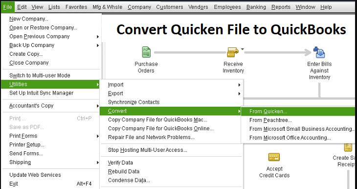 Convert Quicken Home to QuickBooks