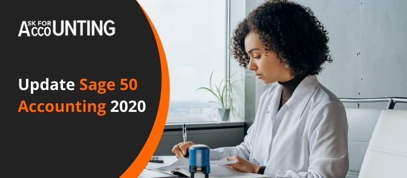 Update Sage 50 Accounting 2020