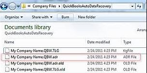 Recover QuickBooks Data